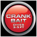 Crank Bait 3-5 Feet